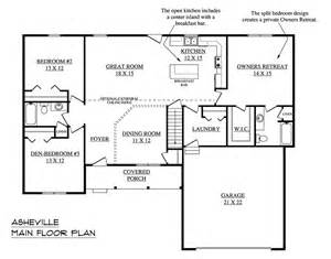 Open Floor Plan House Plans One Story Single Story Open Floor Plans With Picture Of The House