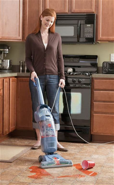 Hoovering The Floor by Hoover Floormate Carpet Floor Cleaning Machines