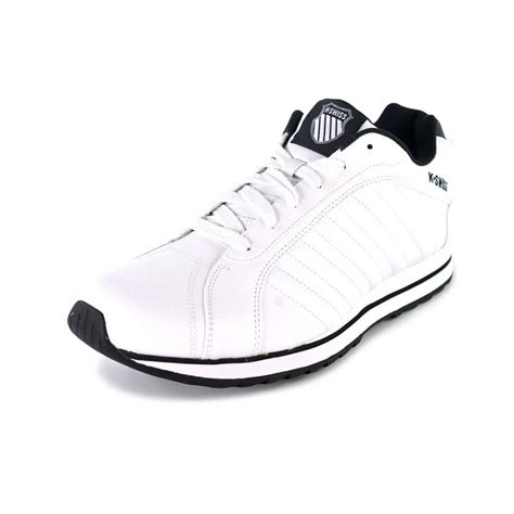 white leather sneakers mens k swiss verstad iii s leather white sneakers athletic