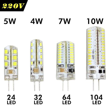 lade g9 a led lade led 220 v aliexpress buy led l g4 12v led 220v g4