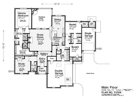 fillmore design floor plans f2306 fillmore chambers design group