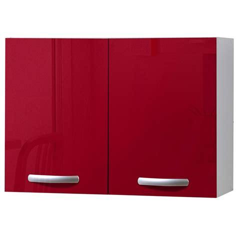 meuble cuisine haut leroy merlin meuble de cuisine haut 2 portes brillant h57x l80x