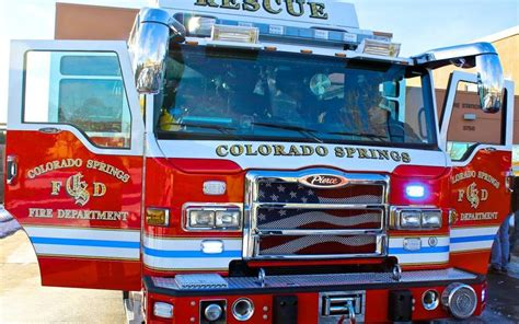 rescue colorado springs honorary firefighter caden welcomes colorado springs new rescue 17 absolute rescue