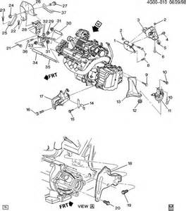 1995 Buick Riviera Parts 1995 Buick Riviera Engine Transmission Mounting V6