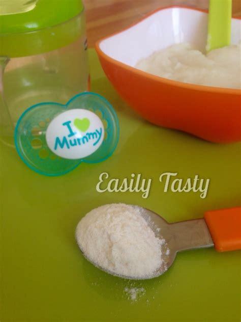alimentazione infantile bimby crema di riso easily tasty ricette per l alimentazione