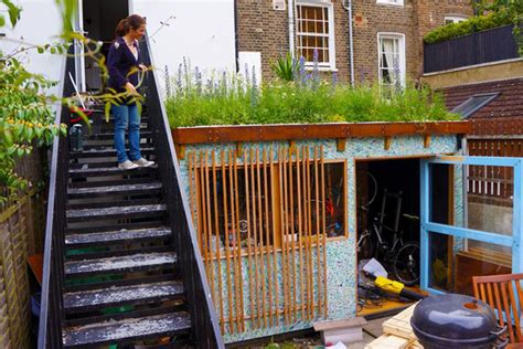 Building A Shed From Recycled Materials by 5 Brilliant Backyard Sheds Built From Recycled Materials 6
