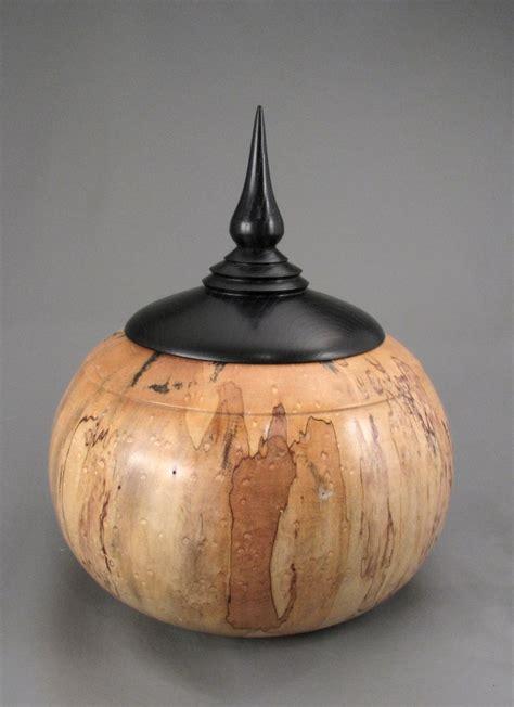 Handmade Wooden Urns - handmade wooden cremation urn by lussier wood