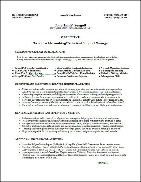 free resume sles download sle resumes