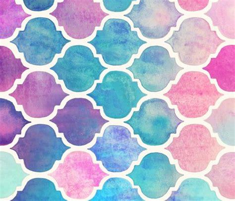 pastel watercolor pattern rainbow pastel watercolor moroccan pattern large
