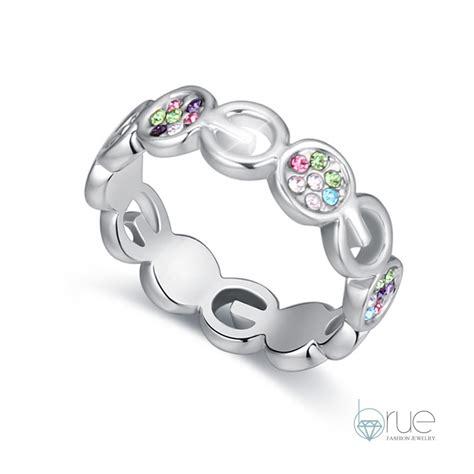 Anting Giwang Earrings Cincin Rings Fashion 2016 new fashion kpop baru spiral cincin elements swarovski lord of the rings wanita