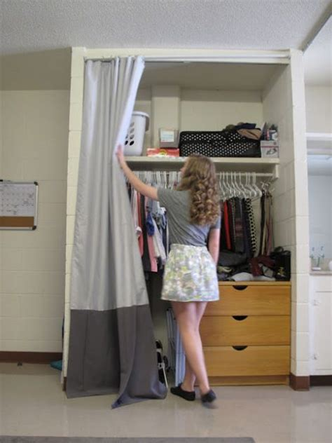 command strips for curtains closet curtains for your dorm use a tension rod or
