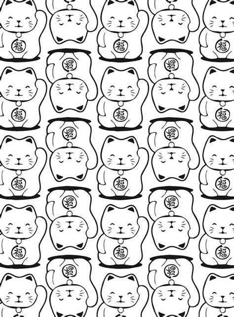 advanced cat coloring pages best 25 lucky wallpaper ideas on pinterest run around