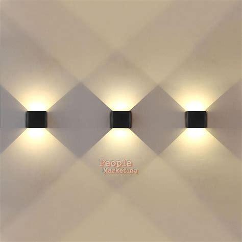 6w wall light modern up led sconce spot light l