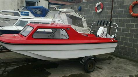 cathedral hull fishing boats sale 14ft cjr cathedral hull cabin boat on trailer with 35hp