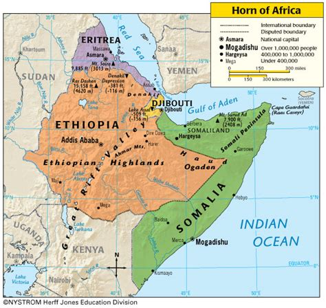 where is horn on the map may 2012 maps of africa pictures and information