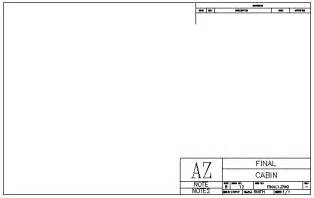 Autocad Title Block Template by Creating A Title Block In Autocad 2016 Tutorial And