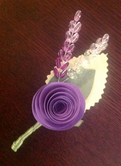 How To Make Paper Boutonniere - diy paper flower boutonnieres weddingbee photo gallery