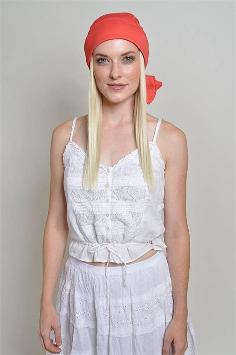 chemotherapy wigs with soft headband cute chemo headband hat with hair soft stretchy polyester