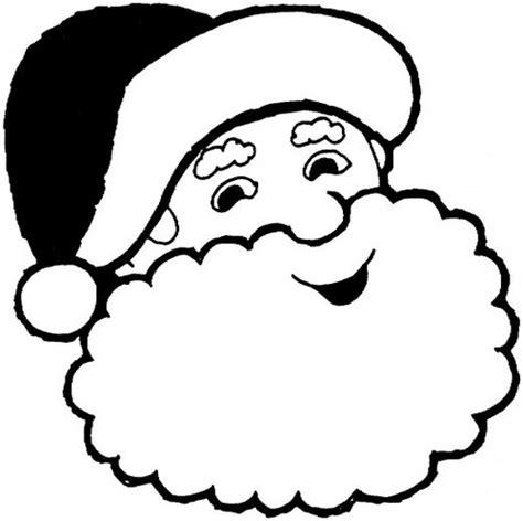 printable santa head santa claus head coloring pages gt gt disney coloring pages