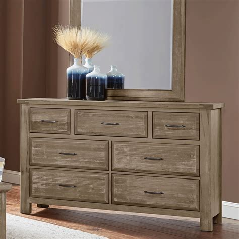 Weathered Grey Dresser by Maple Road Weathered Gray Dresser Bernie Phyl S