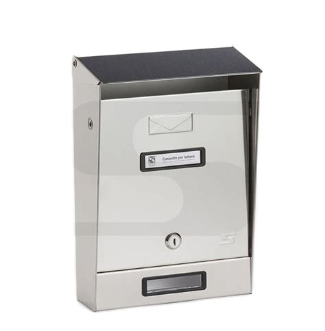 cassetta per posta cassetta posta inox per recinzioni silmec 10 003 toolshop