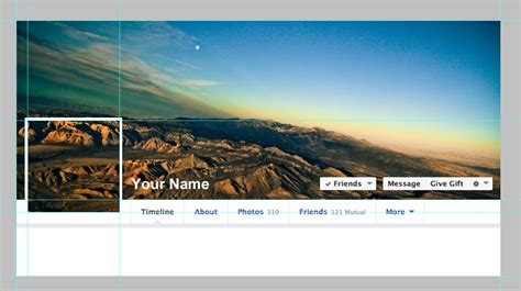 cover photo template photoshop templates for s timeline redesign