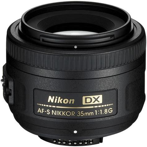 Lensa Nikon Af S 35mm F 1 8g nikon 35mm f 1 8g af s dx nikkor lens 2183 b h photo