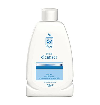 Qv Baby Gentle Wash 250 Gr cleanser gently cleanse sensitive skin qv