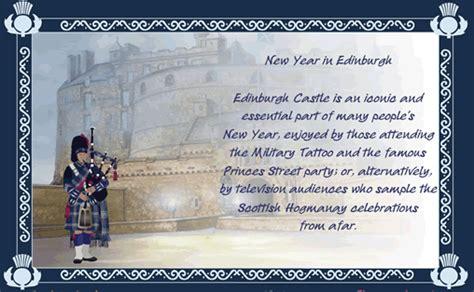 happy new year in scottish hogmanay new year in edinburgh
