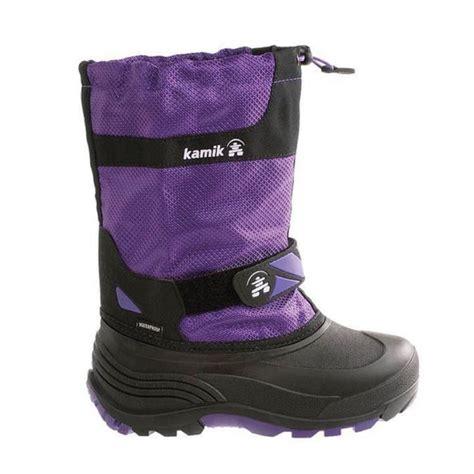 kamik toddler snow boots kamik footwear snowbank insulated snow boot toddler