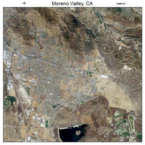 moreno valley california map moreno valley ca california aerial photography map images