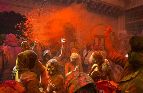 celebrate color 17 colorful photos of the holi festival business insider