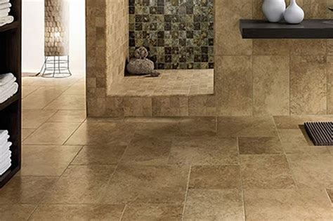 bathroom travertine tile floors and flooring in and near