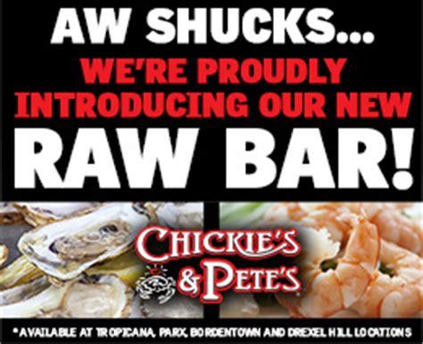 Philadelphia Restaurant Gift Cards - chickie s pete s south philadelphia chickie s and pete s