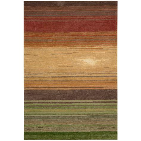 6 X 10 Area Rugs Nourison Tequila Harvest 8 Ft X 10 Ft 6 In Area Rug 076793 The Home Depot