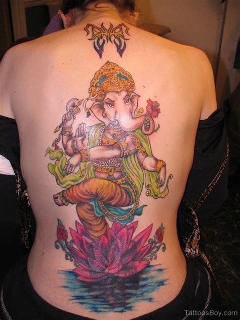 ganesh tattoo back ganesha tattoos tattoo designs tattoo pictures page 30