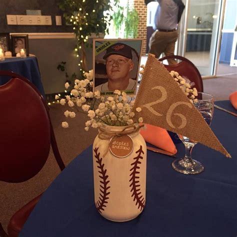 baseball wedding centerpieces 25 great ideas about baseball centerpiece on