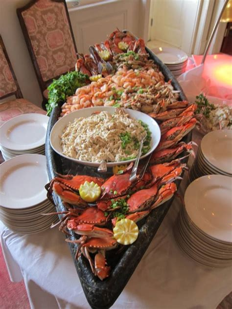 seafood boat boat seafood display food plating presentations