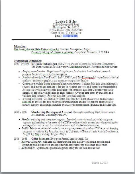 resume phone number exles graphic resume the and times of louise i byler