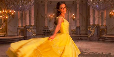 upcoming film of emma watson beauty and the beast photos show look in disney s live