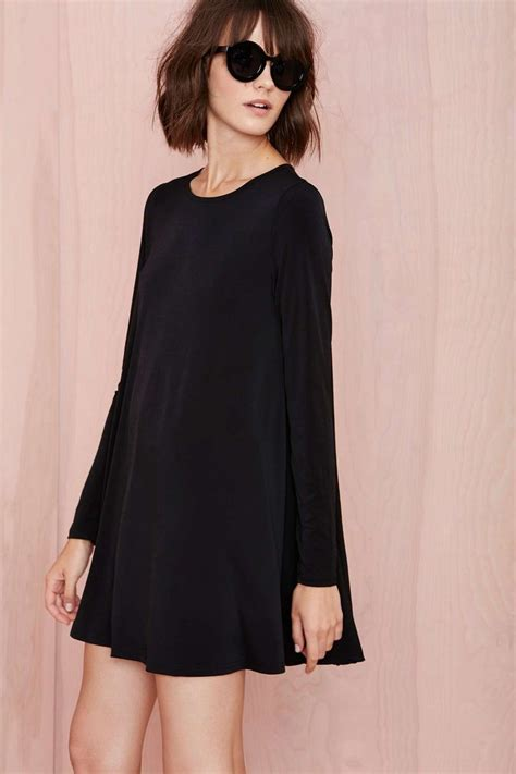 swing dresses swing dress black