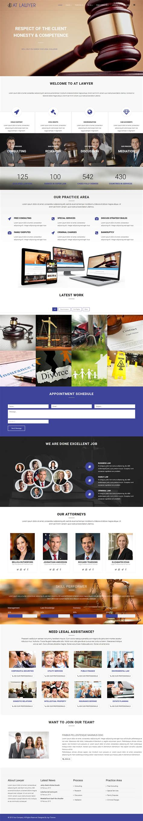 age themes joomla age themes lawyer v2 0 0 the law firm template for joomla