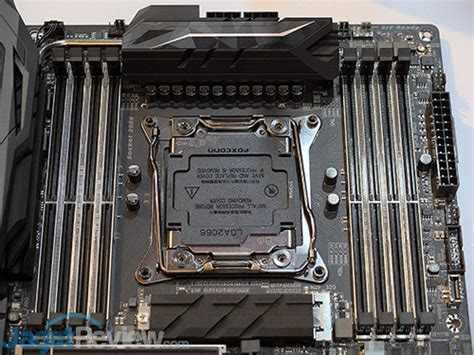 Listrik Soket Rgb Pin 4 Sisir Hitam lebih dekat dengan motherboard gigabyte x299 aorus gaming 9 jagat review