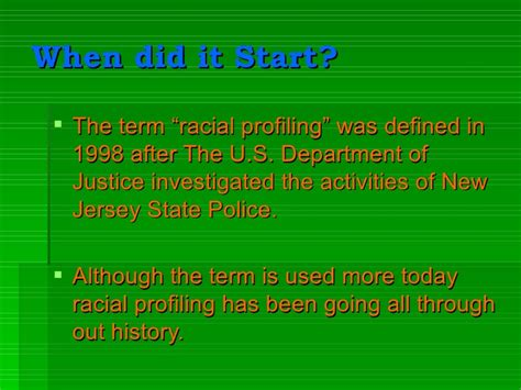 Racial Profiling In America Essay by And Racial Profiling Essay
