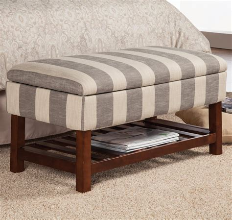 fabric storage benches coaster 500067 grey fabric storage bench steal a sofa