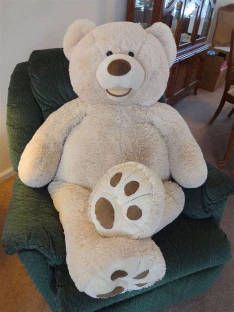 large teddy bears 53 quot costco teddy hugfun plush nursery