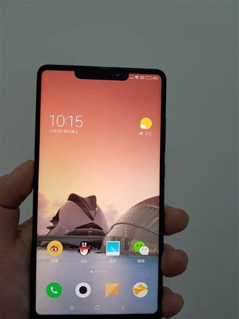 Hp Xiaomi Mirip Iphone fotonya beredar xiaomi mi mix 2s mirip iphone x droidpoin
