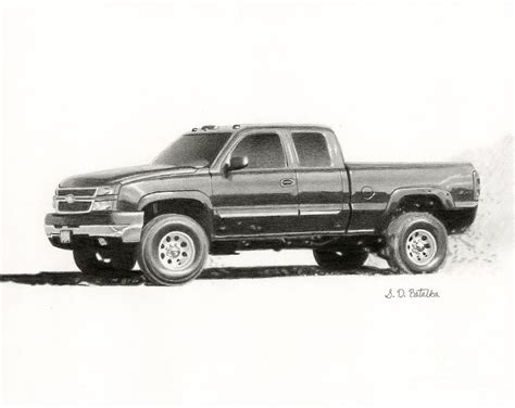 Chevy Truck Drawings by Pencil Drawings Of Chevy Trucks Www Imgkid The