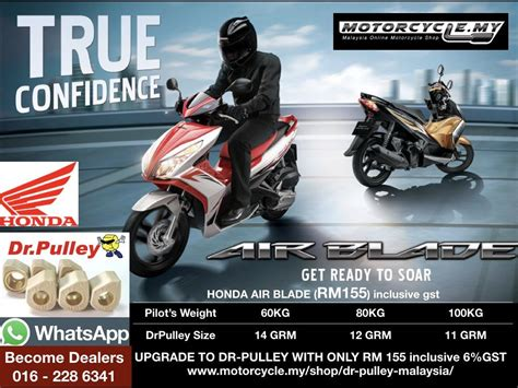Pulley Racing Nmax dr pulley malaysia most valuable upgrade a must