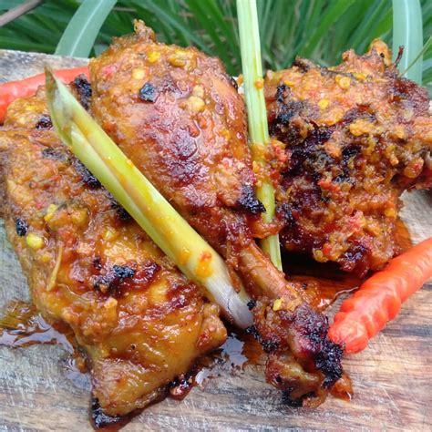 resep ayam bakar rica manado sajian sedap masranacom